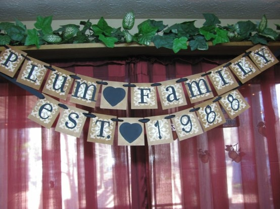 Love this for my parents' upcoming 50th wedding anniversary!: Parents 50Th, Anniversaries Ideas, Banners Anniversaries, 50Th Anniversaries, 40Th Wedding Anniversaries, Parties Ideas, 50Th Wedding Anniversaries, Signs Families, Anniversaries Signs