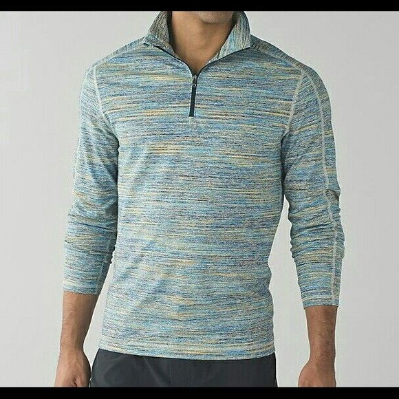 NWT Lululemon Mens Surge warm 1/2 zip New with tags. lululemon athletica Tops Sweatshirts & Hoodies
