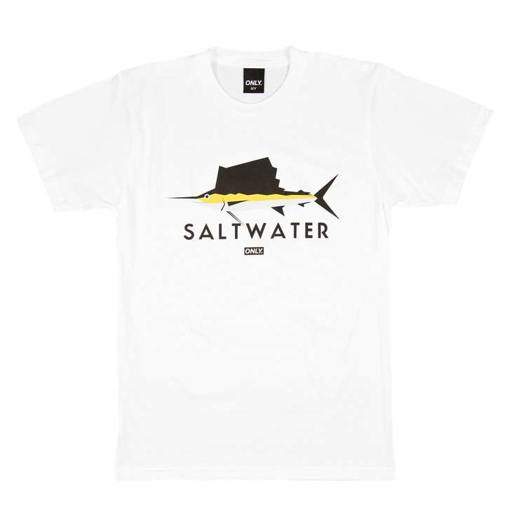 Only NY - Saltwater Tee White