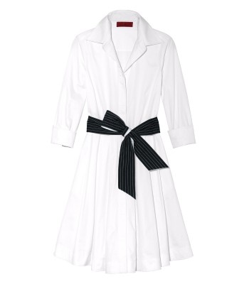 #ShopBAZAAR Exclusive - CH Carolina Herrera Cotton Shirt Dress    #GetGraphic