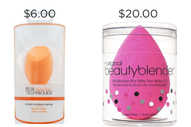 You can literally get 14 Wendy's value menu nuggets with the price difference between Real Techniques Miracle Complexion Sponge and Beauty Blender. | 17 Makeup Dupes That Are Way Cheaper And Just As Awesome As Other Beauty Products