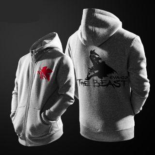 Neon Genesis Evangelion hoodie The beast Asuka Langley Soryu eva hoodie zip design