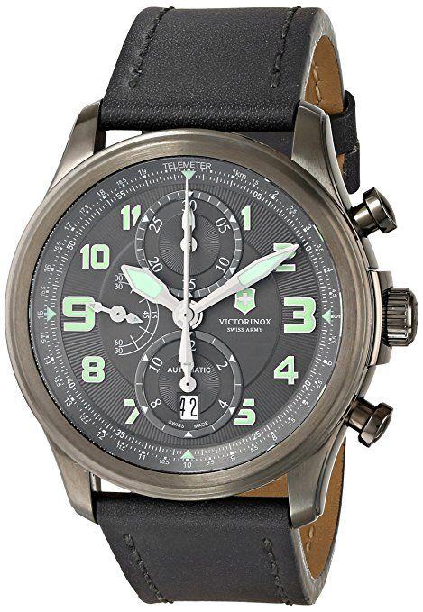 40a2980c5b54 Victorinox Swiss Army - Reloj de hombre cronógrafo negro