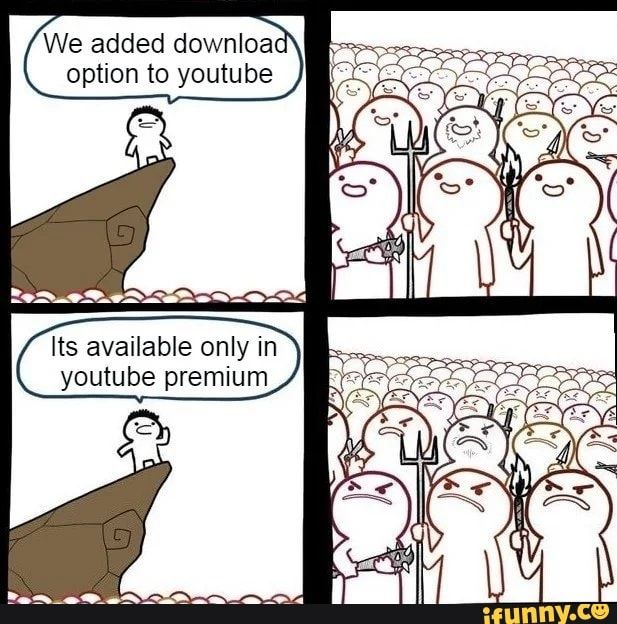 We Added Downloao Option To Youtube Ifunny Memes Funny Pictures Funny