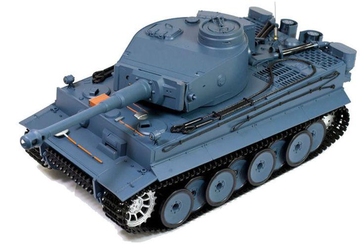 Brand New 1/16 German Tiger Air Soft RC Battle Tank Smoke Sound Shoots Moving #HengLong
