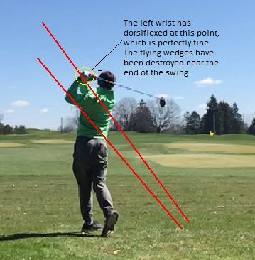 The impact zone is where the best golfers in the world get