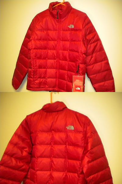 Coats and Jackets 26346: North Face Mens Jacket Thunder Jacket In Red Medium Nwt *Sale* -> BUY IT NOW ONLY: $123.49 on eBay!