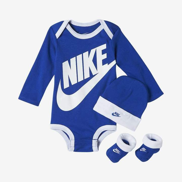 Nike Futura Infant Boys Three Piece Set Cutestbabyclothes Baby Boy Clothes Nike Baby Boy Outfits Baby Boy Outfits Swag