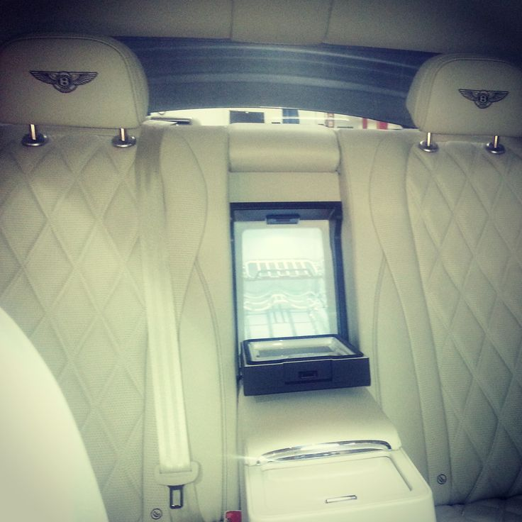 Pin By Bt On Flying B Bentley: Yes That Is A Mini Fridge In The New Bentley Flying Spur