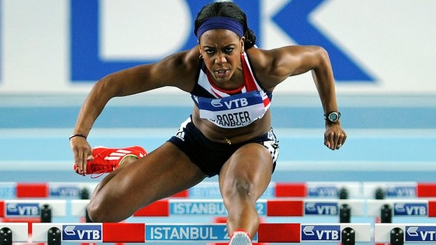 Tiffany Porter profile  Athletics (Women's 100m Hurdles)  Career highlight  The American-born sprint hurdler has soared up the rankings from 24th in the world to become a genuine medal prospect since joining the British set-up in late 2010.     She won European indoor silver on her British debut - losing out on gold by only one thousandth of a second - and has repeatedly lowered the national outdoor record.