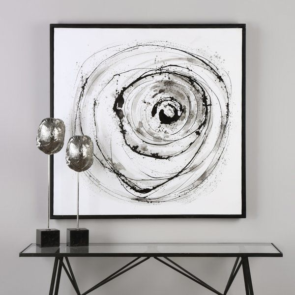 Wade Logan Eye On The World Modern Abstract Framed Painting Print Wayfair Modern Abstract Wall Art Modern Art Abstract Abstract Wall Art