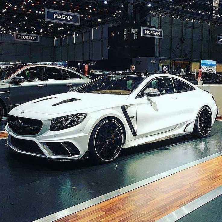 MB S-Class coupe modified by Mansory