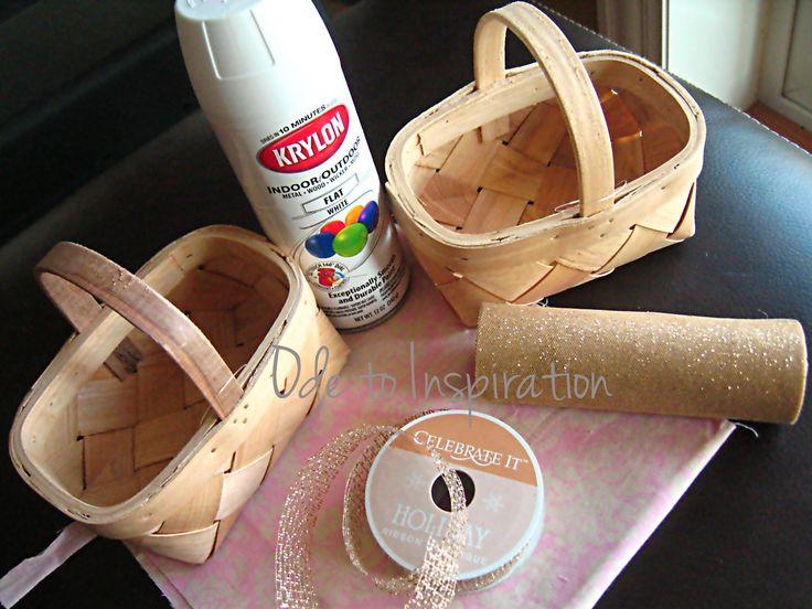 Burlap Flower Girl Basket Hobby Lobby : Best ideas about flower girl basket on