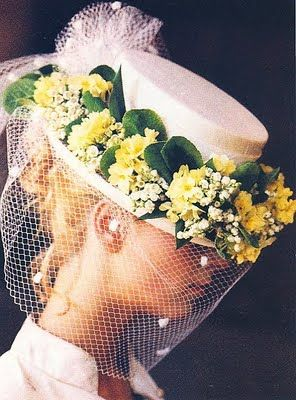 Charming Regency Wedding Hat