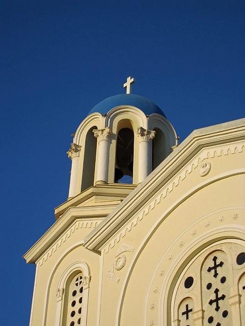 Orthodox Church, Karystos, Greece.