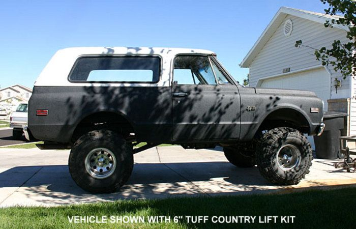 chevy with a lift kit | images of chevy lift kits 1969 1972 truck 4x4 4 quot suspension kit ...