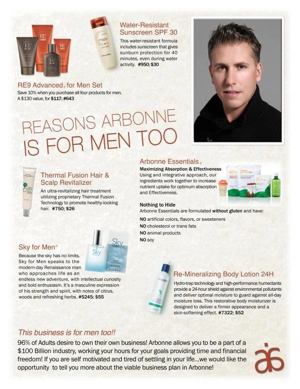 Reasons Arbonne is for Men too. NHL Player, Hugo Belanger favorites