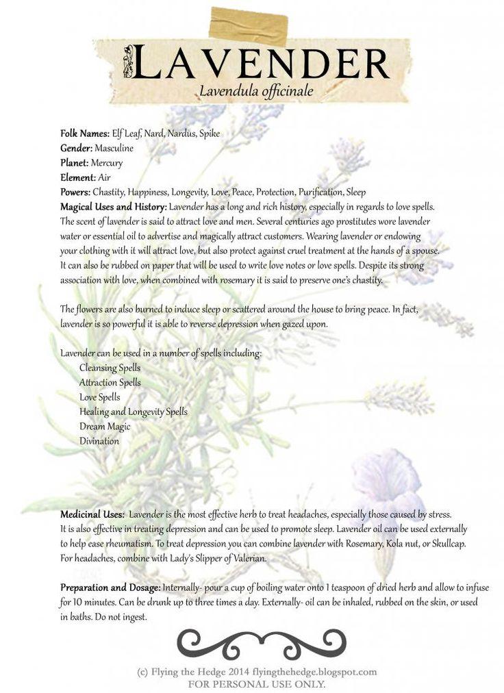 Free Lavendar BOS Page