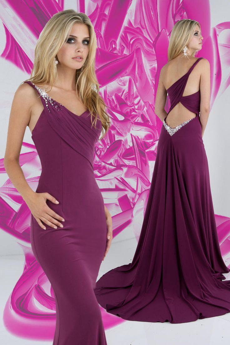 Mejores 108 imágenes de Plum Gowns en Pinterest | Vestidos de noche ...