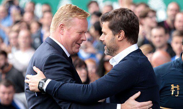 Ronald Koeman sees Tottenham as the example to follow