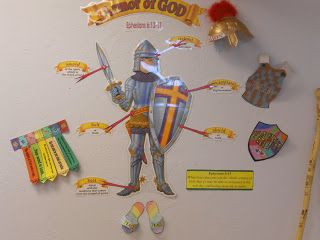 Hands On Bible Teacher: Armor of God Exploring Bible History New Testament Lessons 6