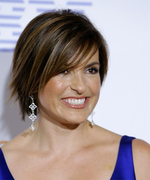 hair styles with bows mariska hargitay casual hairstyle with side 7547
