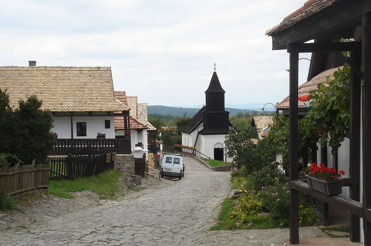 """Hollókő is a Palóc ethnographic village in Hungary and a UNESCO World Heritage Site. Its name means """"Raven-stone"""" in Hungarian."""