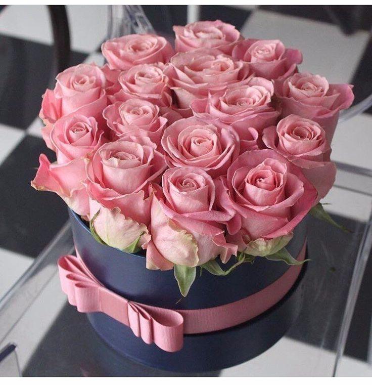 Открытки с днем рождения женщине розы в коробке