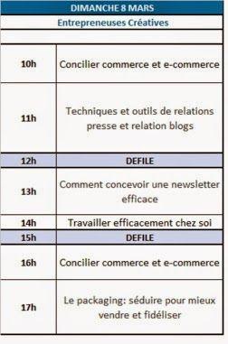 Conférences gratuites le 8 mars 2015 au salon AEF PRO > Relations presse, newsletter, travail à domicile, packaging et commerce multicanal