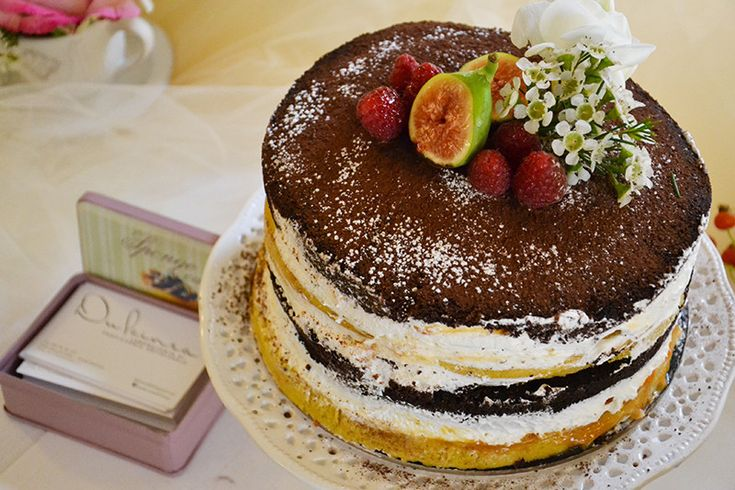 torta naked per matrimonio in autunno