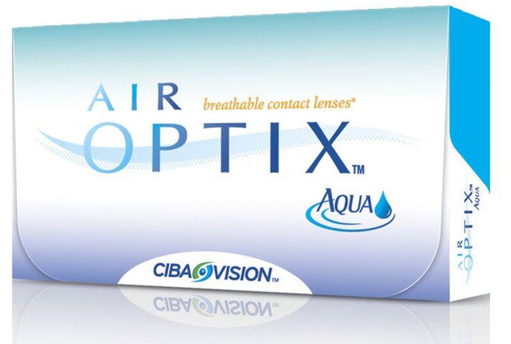 Προσφορά AIR OPTIX AQUA 3pack+1pack δώρο - 19.90€ - Μηνιαίοι μαλακοί φακοί επαφής σιλικόνης υδρογέλης της Alcon-Ciba Vision. Επιτρέπουν μέχρι και 5 φορές περισσότερο οξυγόνο διαμέσου του φακού σε σχέση με τους παραδοσιακούς μαλακούς φακούς και έτσι μπορείτε να τους φοράτε με άνεση από το πρωί μέχρι το βράδυ. Είναι κατασκευασμένοι χρησιμοποιώντας τη μοναδική τεχνολογία TriComfort που προσφέρει υγιεινή και φυσική αίσθηση, άνεση όλη μέρα και καθαρή όραση.