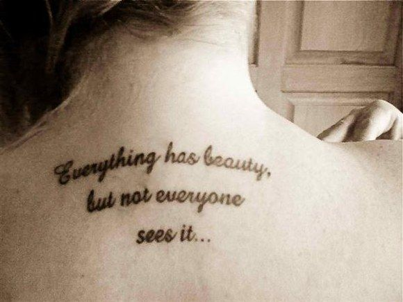 Best 52 Tattoo Quotes in Pictures