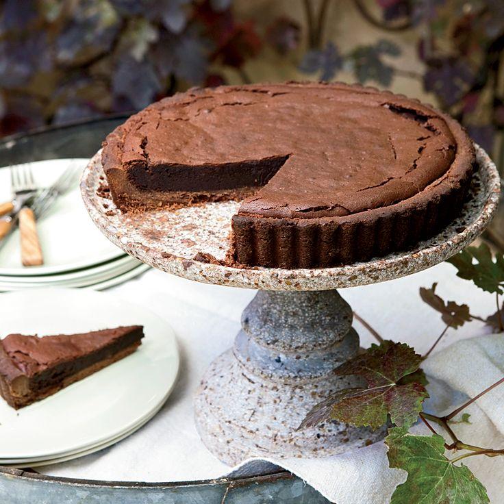 Chocolate-Bourbon Tart   Food & Wine