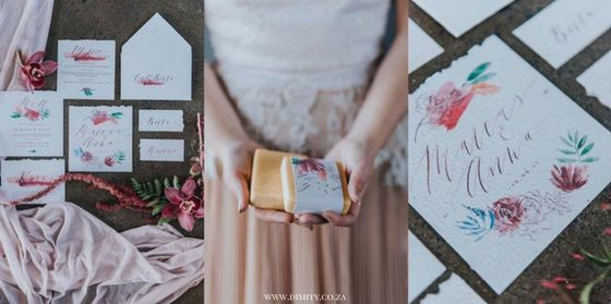 Closeups of our eco-chic styled shoot in Cape Town