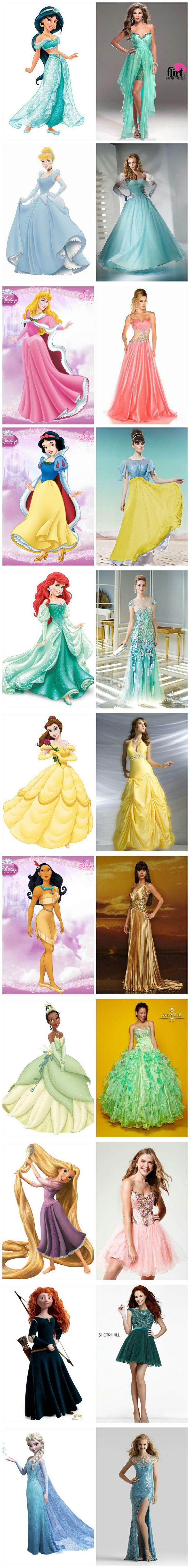 Disney Princess's Dresss