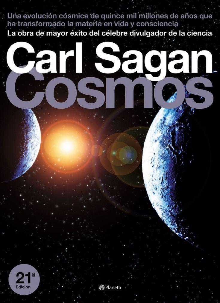 10 libros populares para conocer el cosmos: Cosmos de Carl Sagan