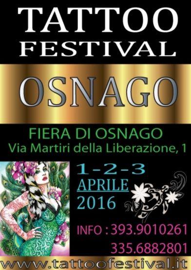 Tattoo festival Osnago 2016