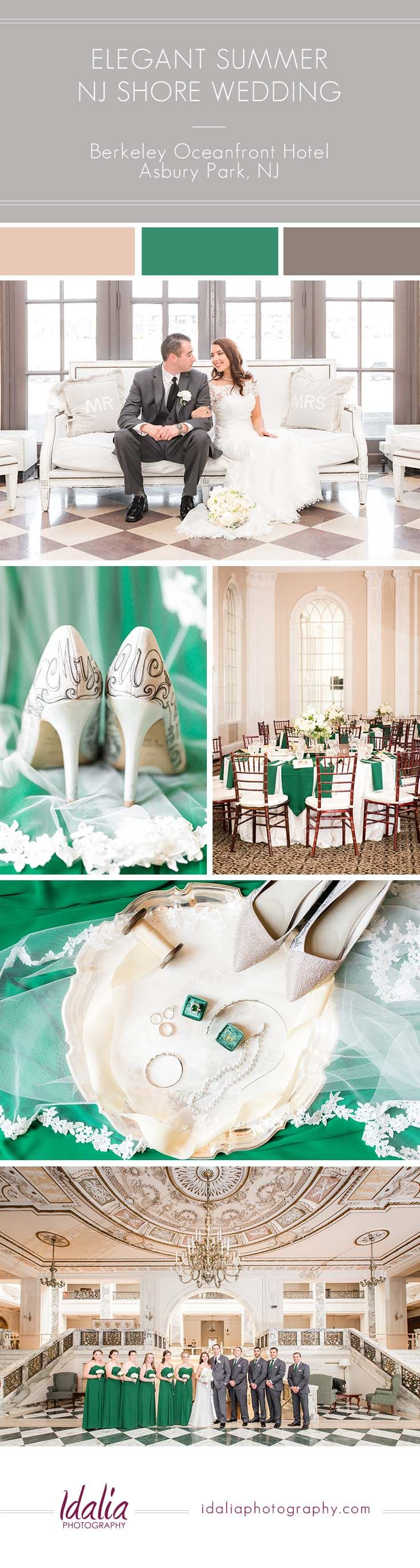 wedding venues asbury park nj%0A Berkeley Oceanfront Hotel Wedding Ideas   Photo by Idalia Photography