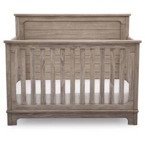 Simmons Kids Slumbertime Monterey 4-in-1 Convertible Crib - Rustic White : Target