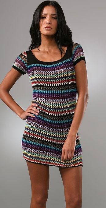crochet dress ~ or crochet tunic for me ;)