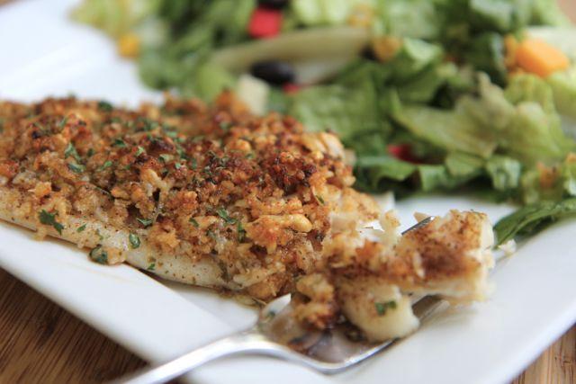 baked parmesan tilapia recipe