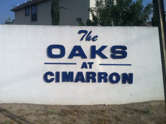 One of the last residential properties left at The Oaks At Cimarron.