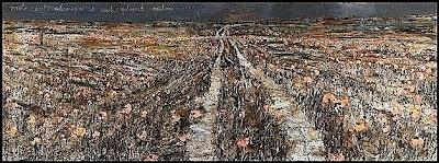 Anselm Kiefer, Rorate coeli desuper et nubes pluant iustum (2006)