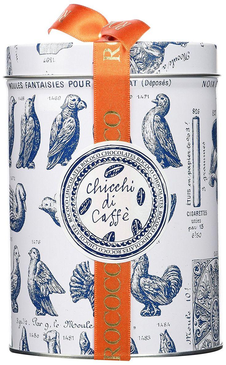 Rococo Chocolates Chicchi di Caffe Gift Drum 250 g: Amazon.co.uk: Grocery