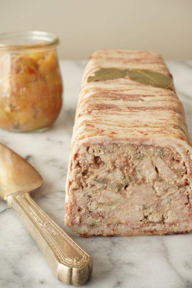 Pork + Chicken Liver Terrine with Spiced Apple Compote {AIP, GAPS, SCD, Paleo} – Healing Family Eats