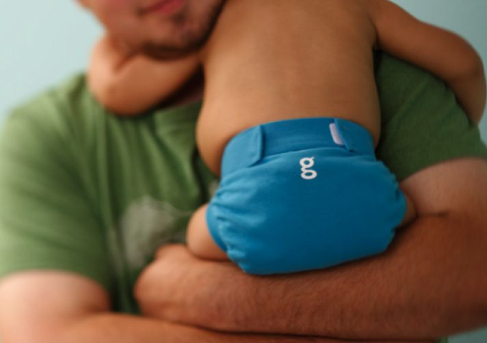 Consider hybrid diapers like these gDiapers instead of disposable. We combined these with cloth ones and love them.
