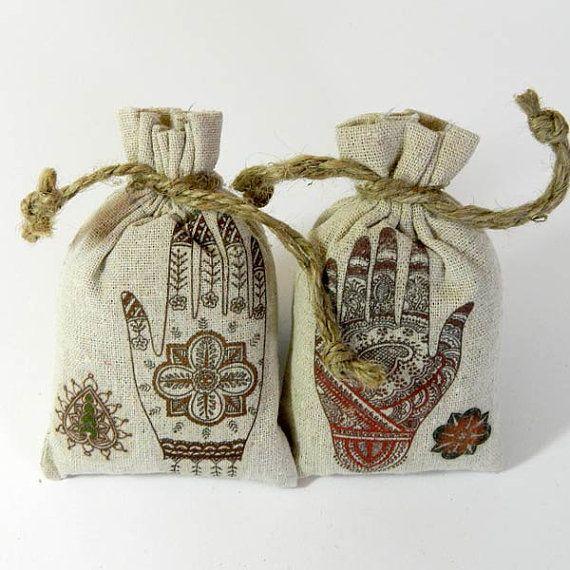 Lavender Sachet Mehndi Henna Hand Tattoo Wedding by RobinStelling, $13.50