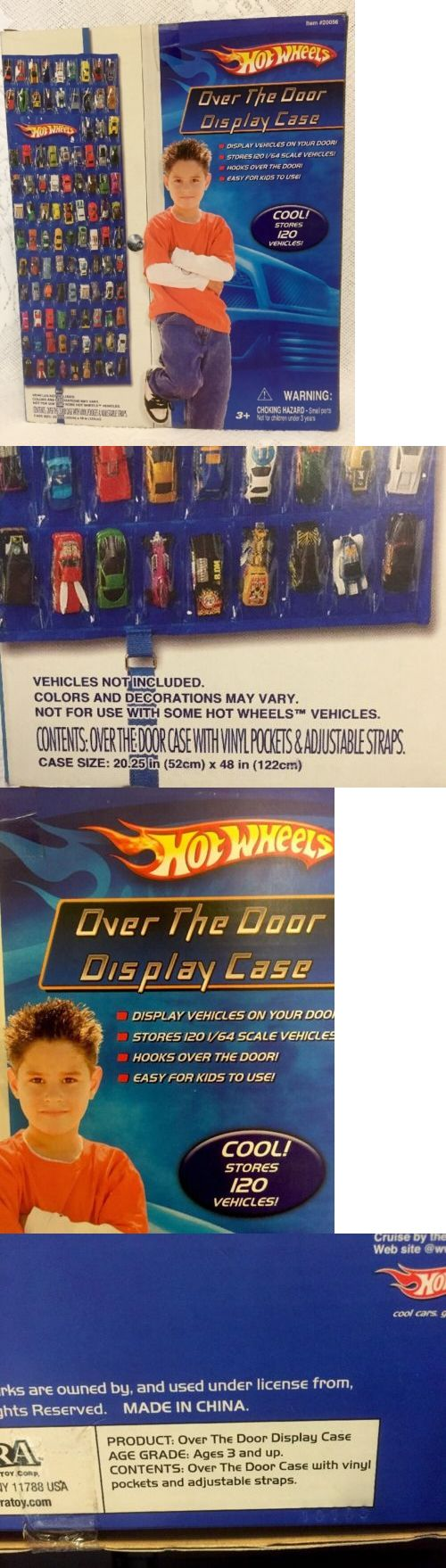 Play Sets 177918: Hot Wheels Hotwheels Over The Door Display Case Item #20056 Stores 120 Cars 1:64 -> BUY IT NOW ONLY: $59.25 on eBay!