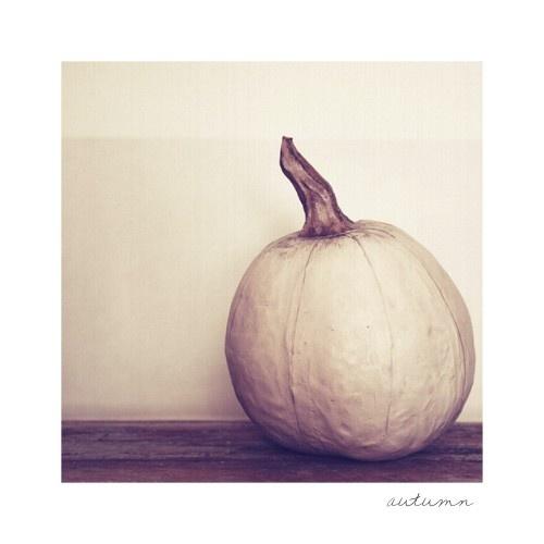 art print found @warmwhispers on Etsy.: Pumpkin Prints, Moon Pumpkin
