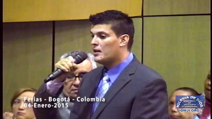 Testimonio en la Iglesia de Ferias – Bogotá